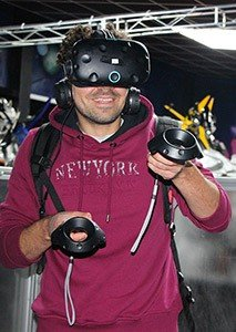 ماژول میز VR دریاچه خلیج فارس
