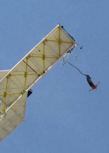 بانجی جامپینگ، پرش از ارتفاع و اسلک لاین توچال
